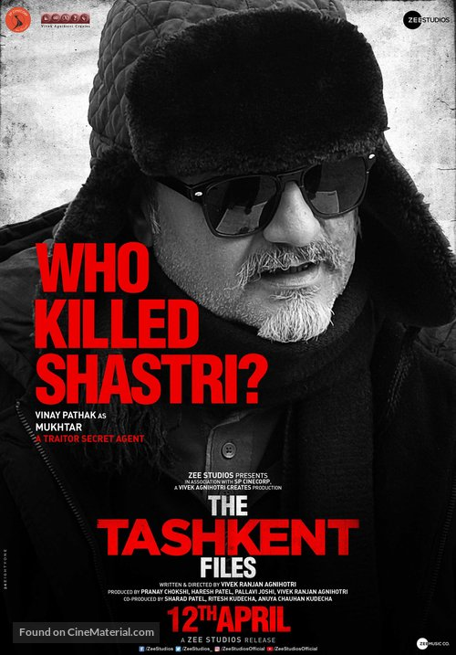 The Tashkent Files - Indian Movie Poster