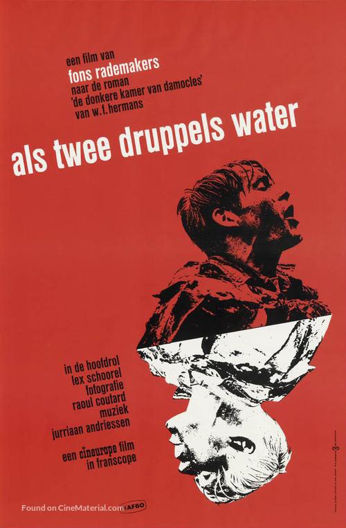 Als twee druppels water - Dutch Movie Poster