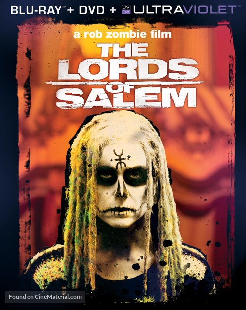 The Lords of Salem - Blu-Ray movie cover