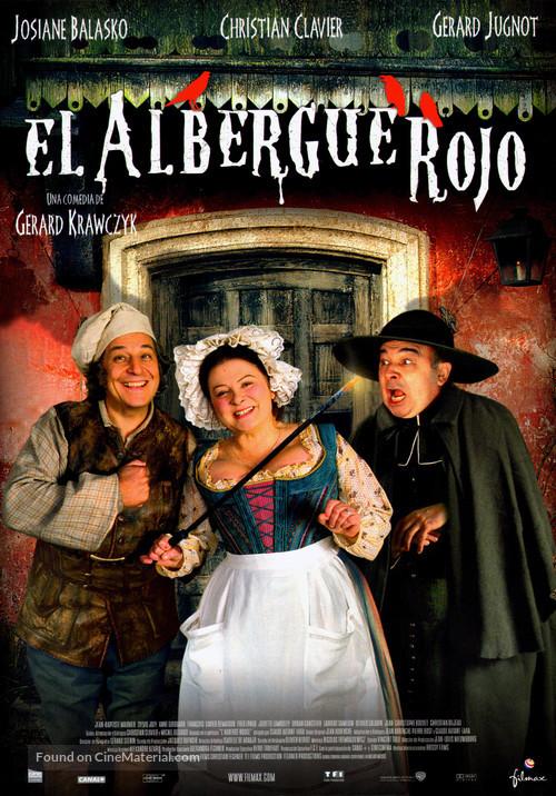 Auberge rouge, L' - Spanish Movie Poster