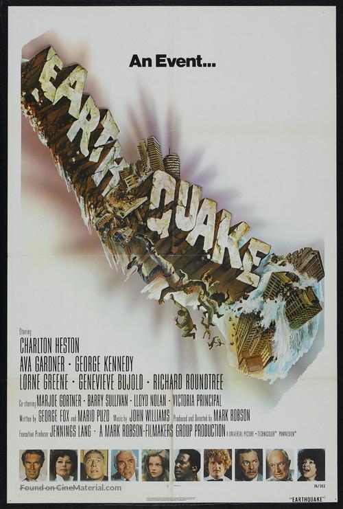 Earthquake - Movie Poster