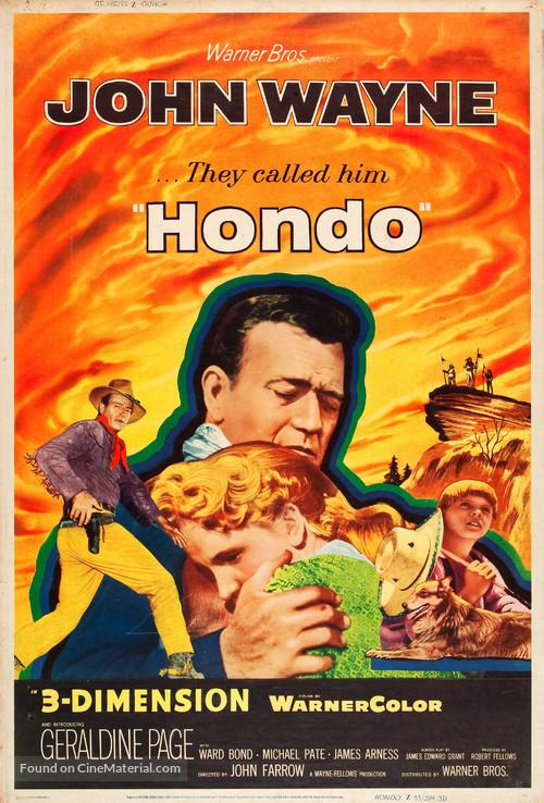 Hondo - Movie Poster