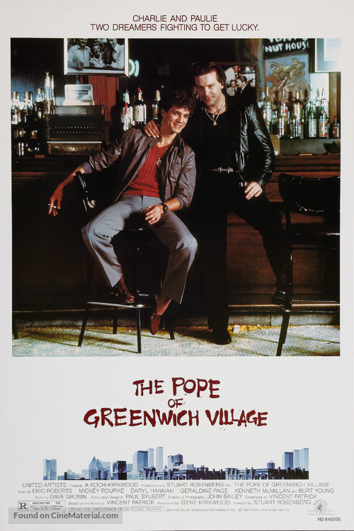 The Pope of Greenwich Village - Movie Poster