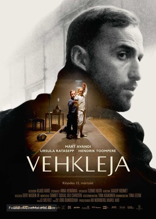Miekkailija - Estonian Movie Poster