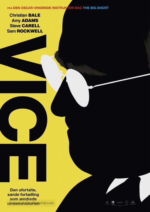Vice - Danish Movie Poster