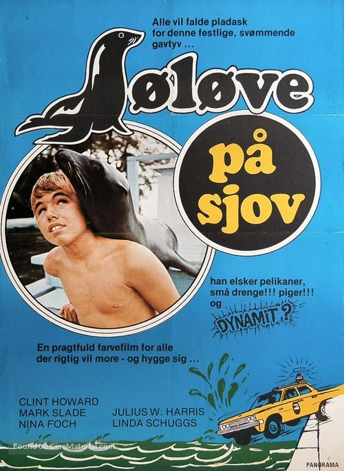 Salty - Danish Movie Poster