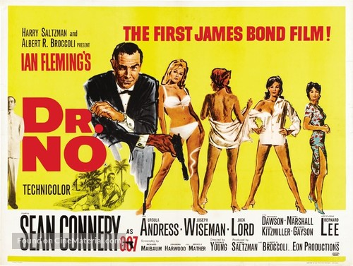 Dr. No - British Theatrical poster