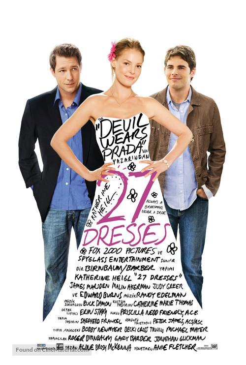 27 Dresses - British Movie Poster