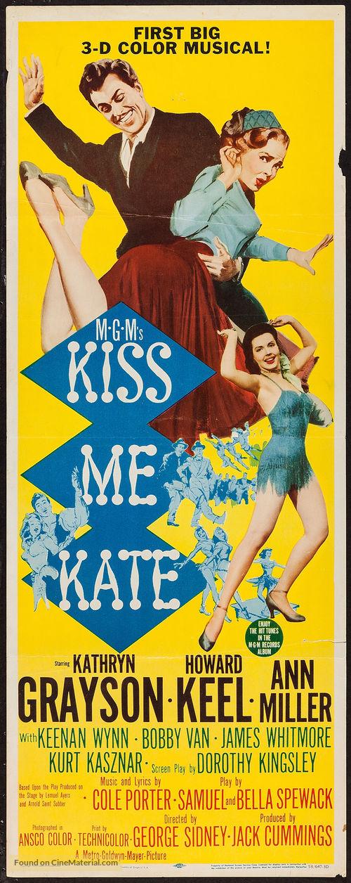 Kiss Me Kate - Movie Poster