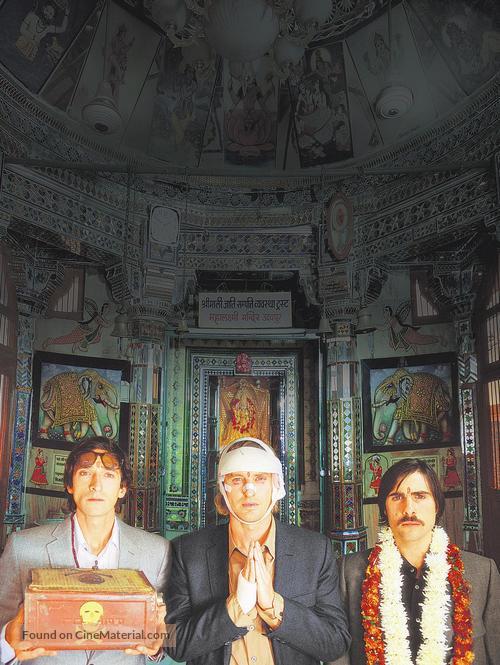 The Darjeeling Limited - Swiss poster