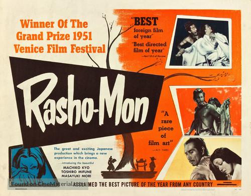 artistic film review rashomon Kurosawa's rashomon uncovers how a film like and forged his artistic — kirkus reviews rashomon has become 'a key word of our time.