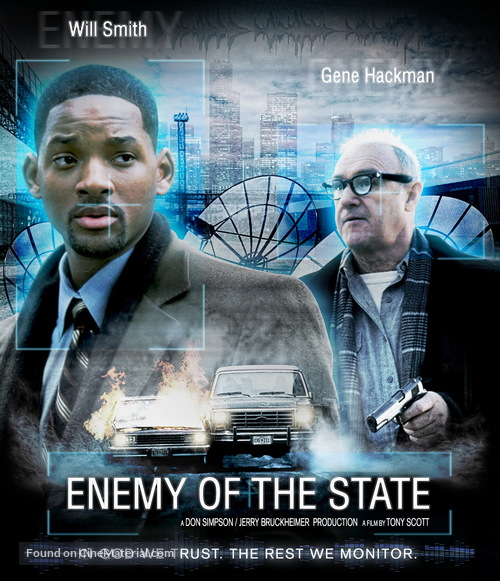 Enemy Of The State 1998 Movie Cover