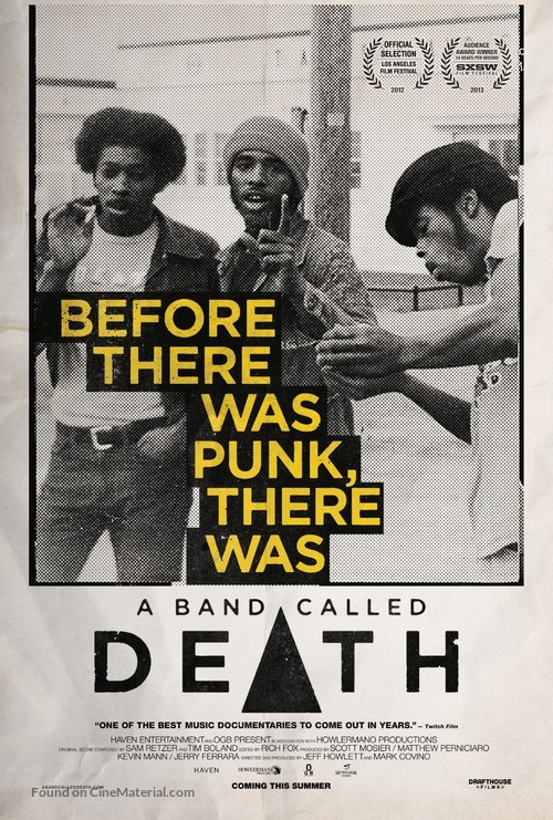 A Band Called Death - Movie Poster