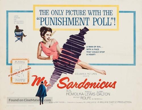 Mr. Sardonicus - Movie Poster