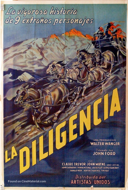 Stagecoach - Argentinian Movie Poster