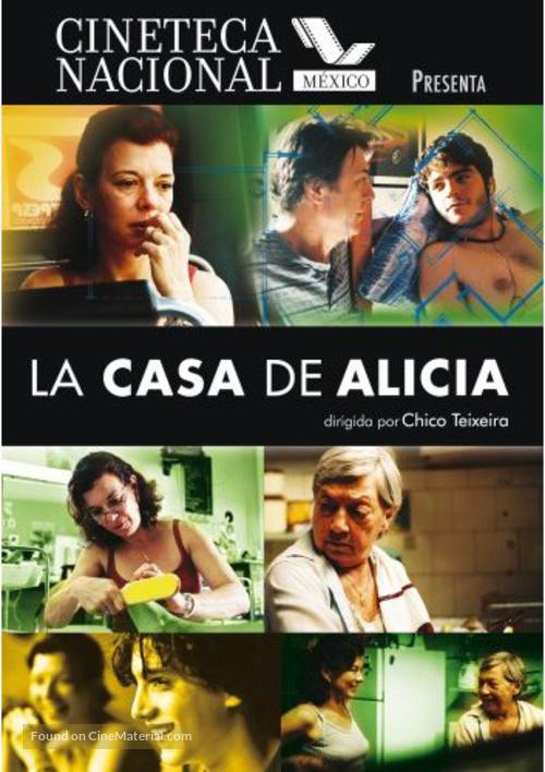A Casa de Alice - Mexican Movie Poster