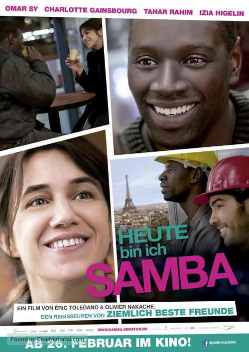 Samba - German Movie Poster