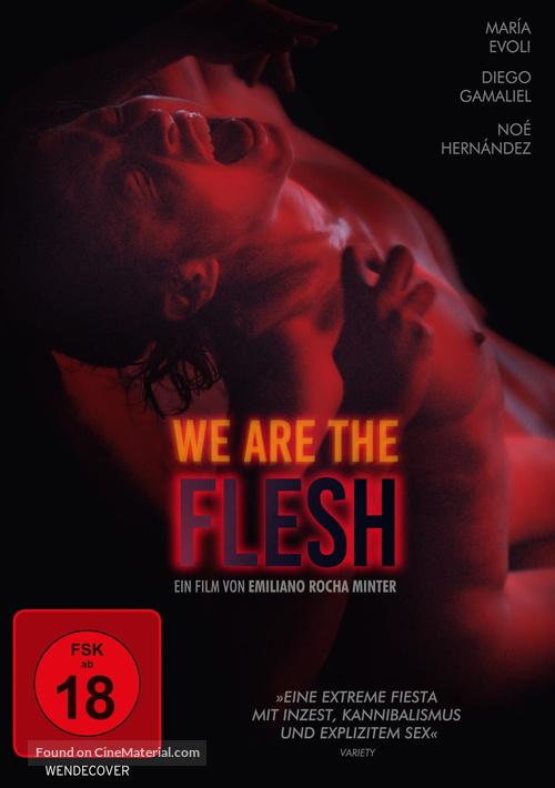 Tenemos la carne - German DVD movie cover