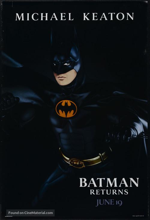 Batman Returns - Advance movie poster