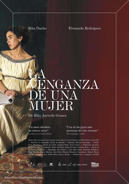 A Vingança de Uma Mulher - Spanish Movie Poster