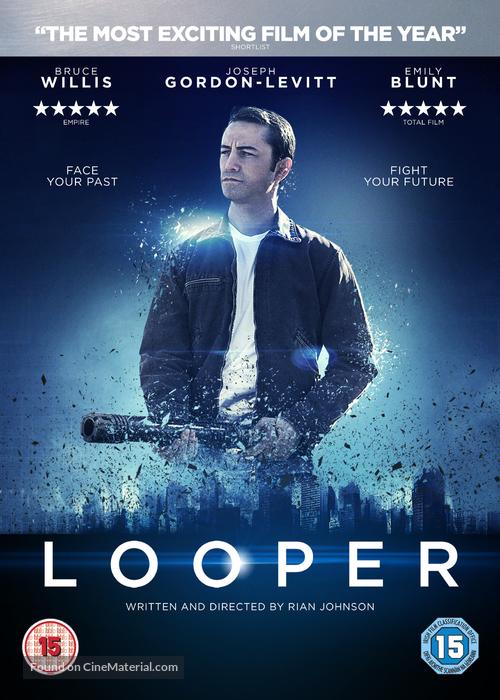 Looper 2012 British Dvd Movie Cover