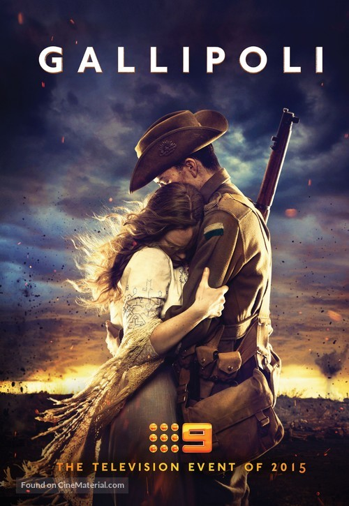 """Gallipoli"" - Australian Movie Poster"