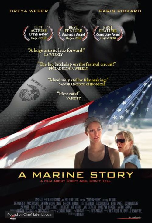 A Marine Story - Movie Poster