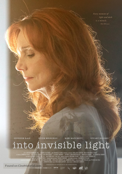 Into Invisible Light - Canadian Movie Poster