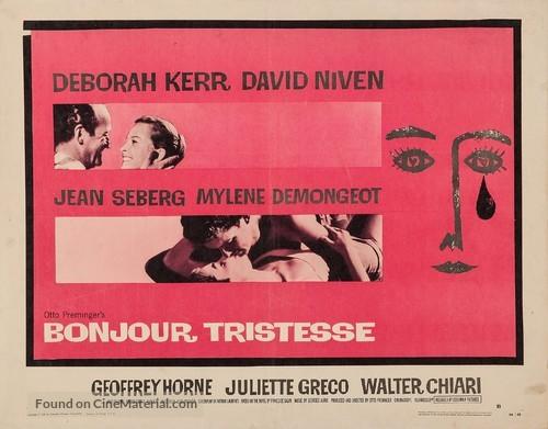 Bonjour tristesse - Movie Poster