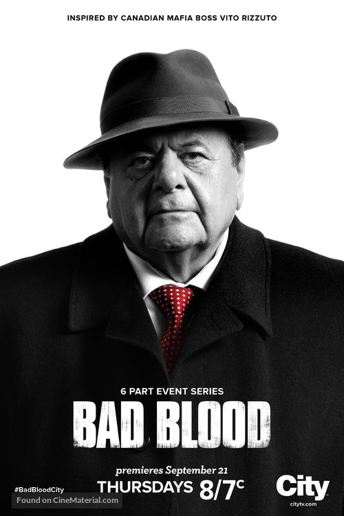 """""""Bad Blood"""" - Canadian Movie Poster"""