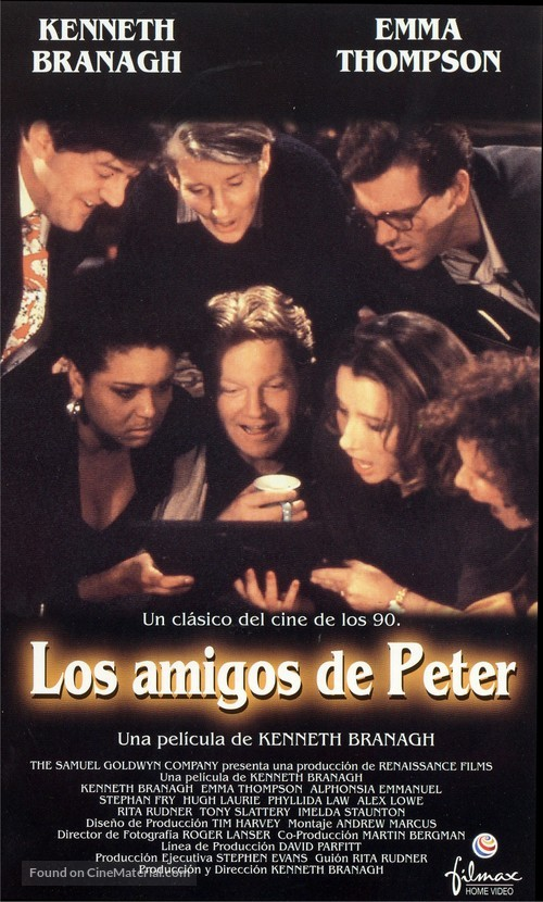 Peter's Friends - Spanish VHS cover