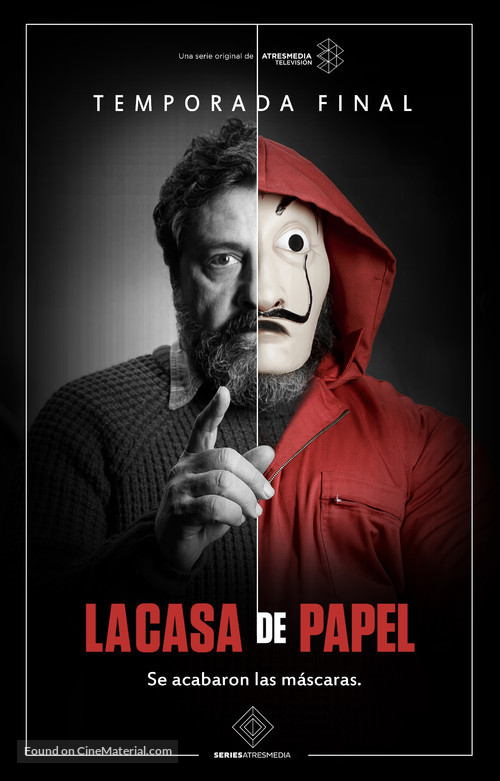 La Casa De Papel Spanish Movie Poster Money
