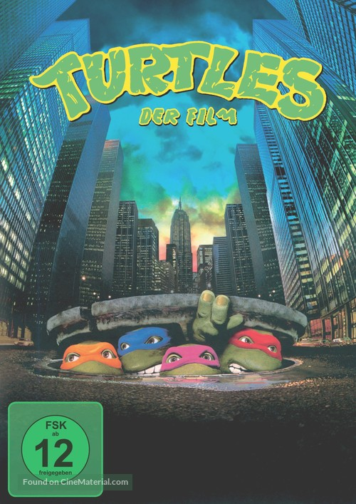 Teenage Mutant Ninja Turtles - German DVD cover