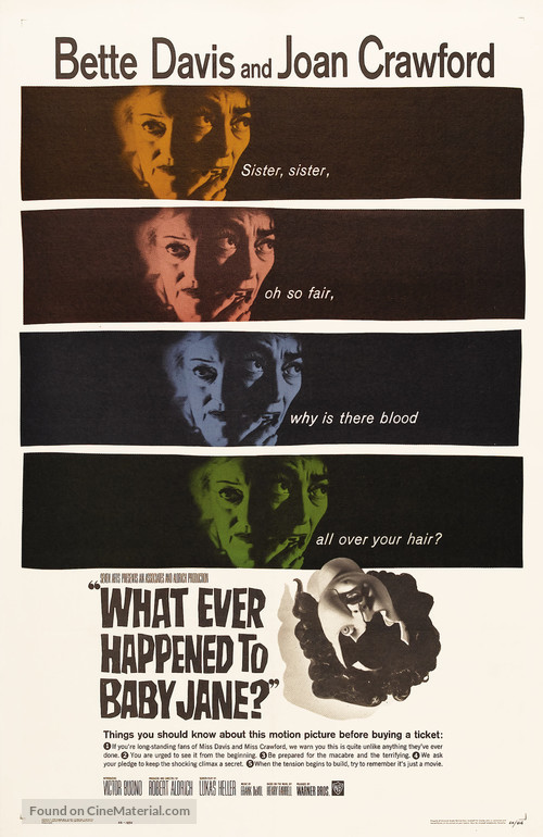 What Ever Happened to Baby Jane? - Theatrical movie poster
