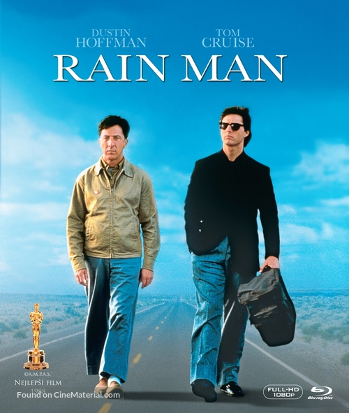 Rain Man - Czech Blu-Ray movie cover
