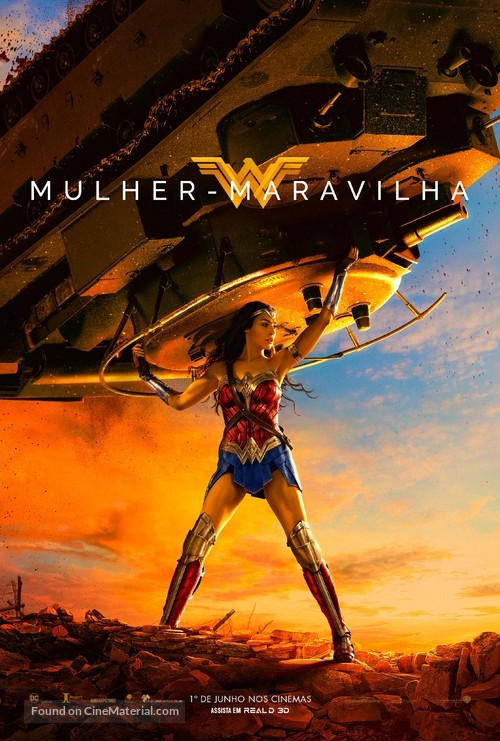 Wonder Woman - Brazilian Movie Poster
