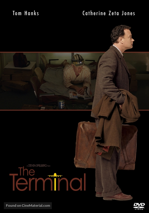 The Terminal 2004 Swedish Movie Cover
