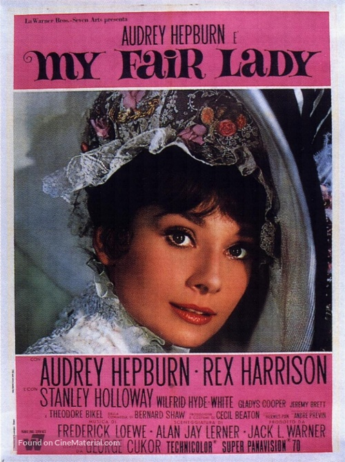 My Fair Lady - Italian Movie Poster