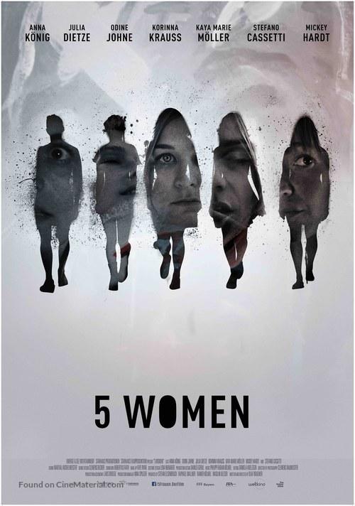 5 Frauen - German Movie Poster