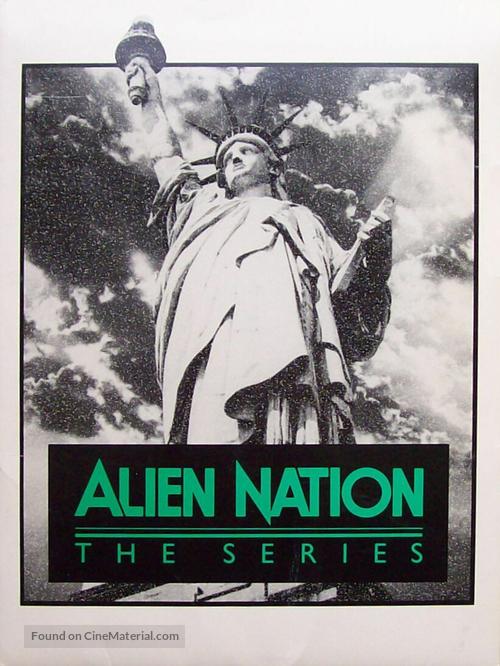"""""""Alien Nation"""" - Key art"""