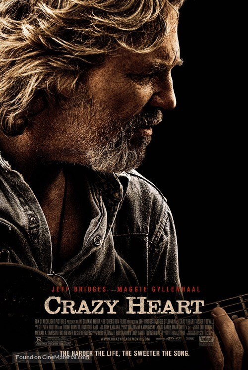 Crazy Heart - Theatrical movie poster
