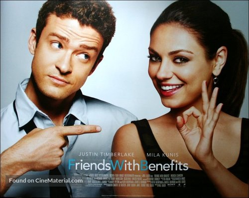 Friends with Benefits - British Movie Poster