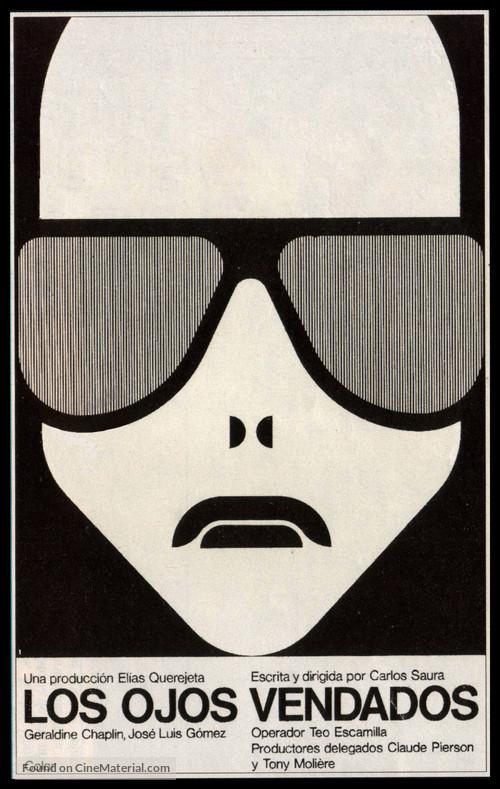 Los ojos vendados - Spanish Movie Poster