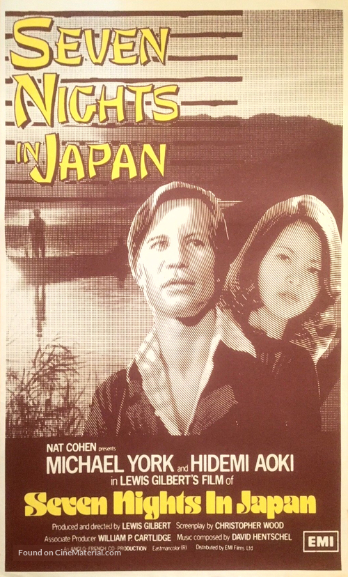 Seven Nights in Japan - Movie Poster