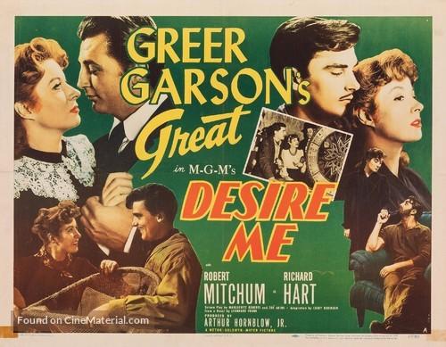 Desire Me - Movie Poster
