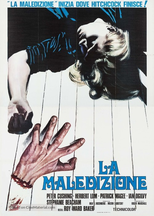 And Now the Screaming Starts! - Italian Movie Poster