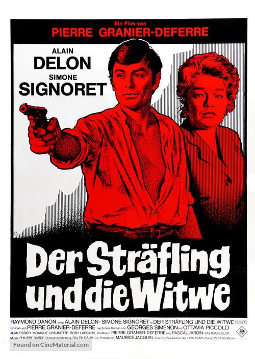Veuve Couderc, La - German Movie Poster
