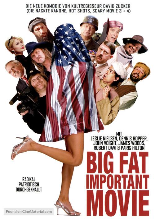 An American Carol - German Movie Cover