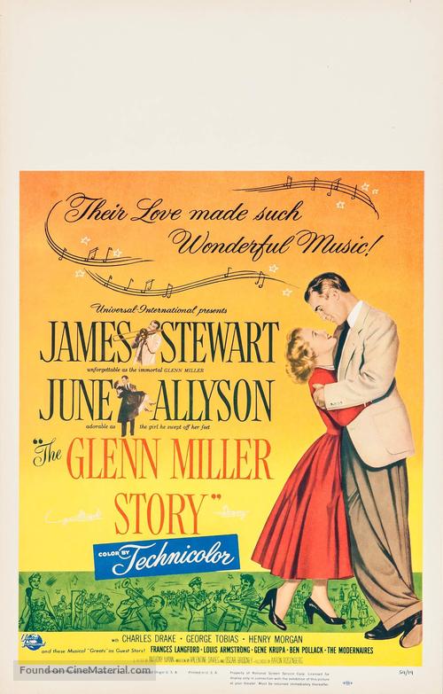 The Glenn Miller Story - Movie Poster
