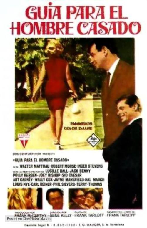 A Guide for the Married Man - Spanish Movie Poster